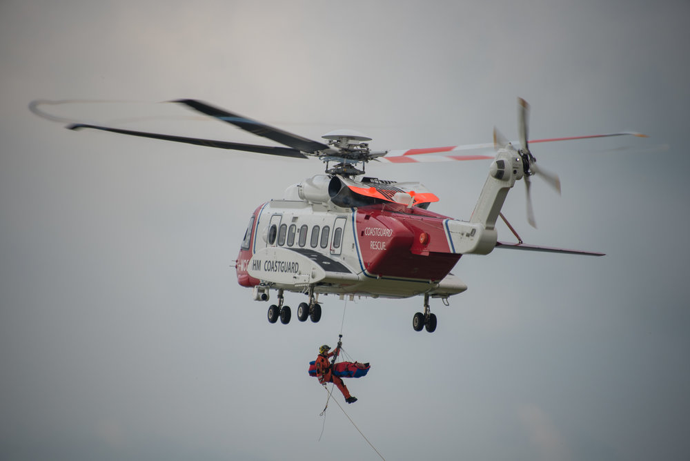 James A Photography Helicopter Mountain Rescue Brecon Beacons Wales
