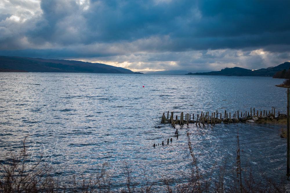 Stormy Loch