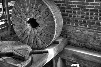 Millstone at Aldie Mill, Aldie, Virginia