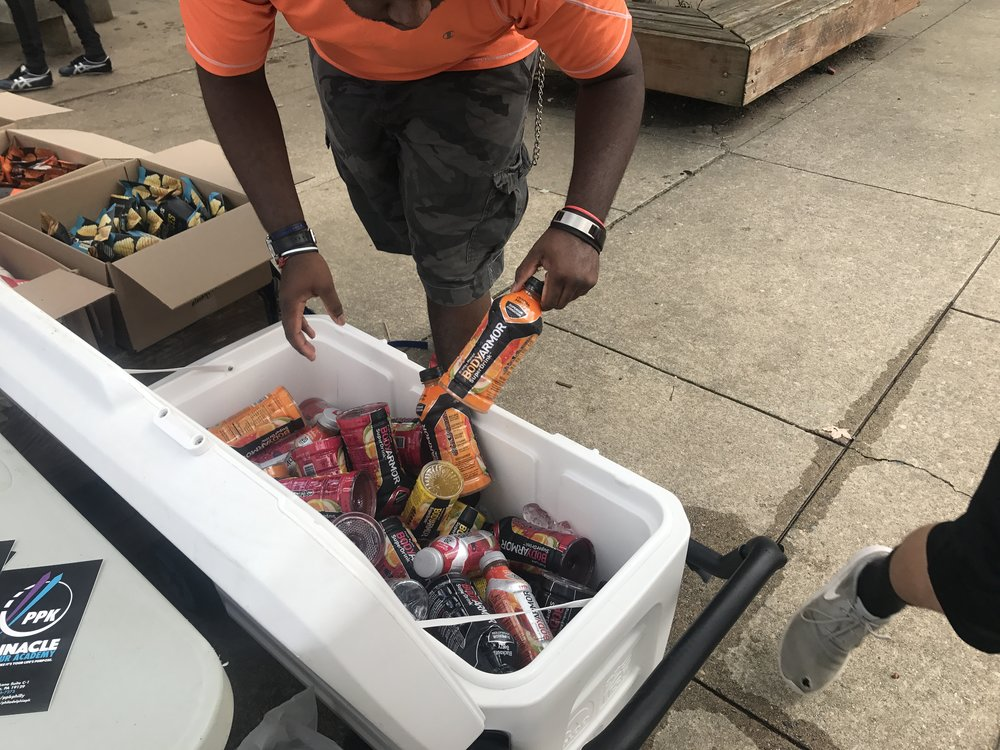 A Whole Cooler full of Drank