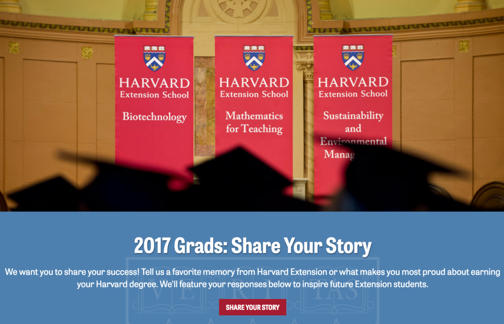 Harvard Extension School Commencement Page Antoinette Hocbo