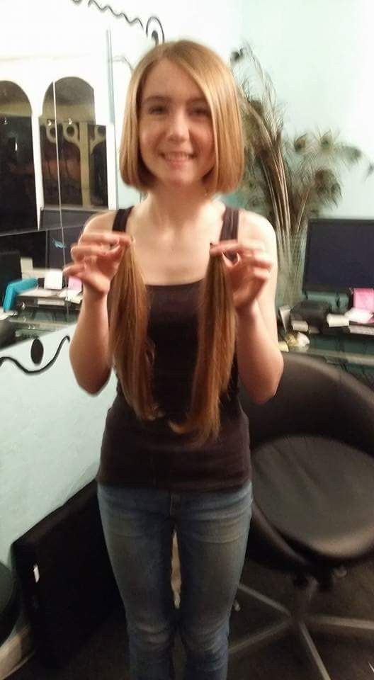 Hair Donation by Heidi Vollers
