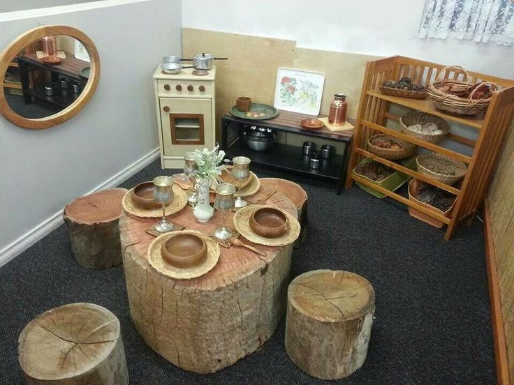 tree stump pretend kitchen set up.jpg