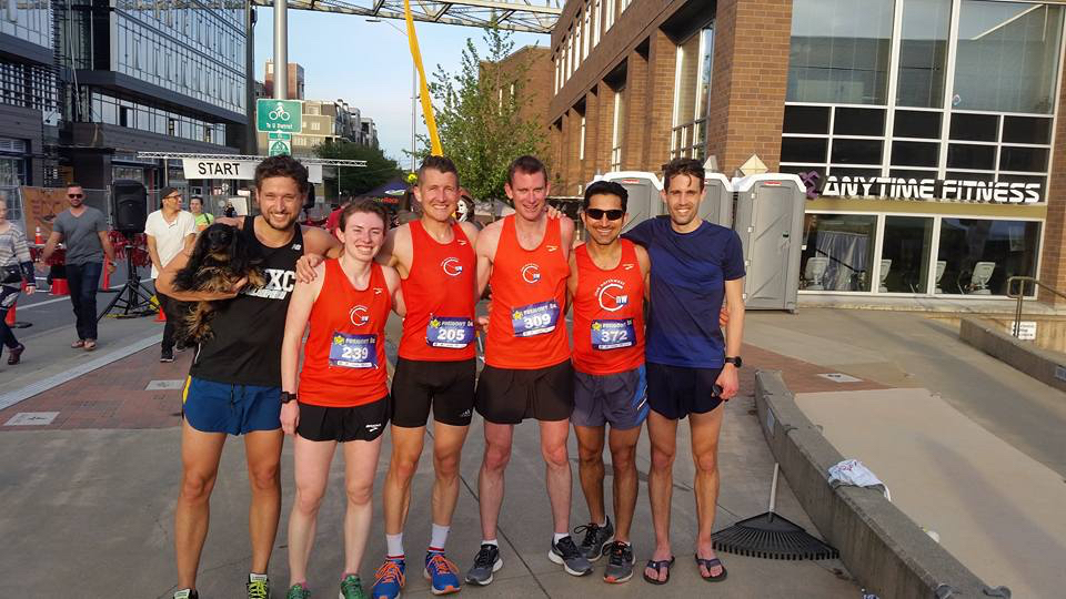 CNW teammates post-Fremont 5k