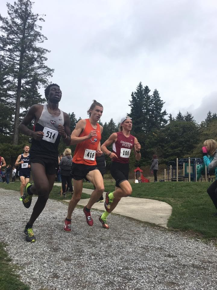 Tyler Van Dooren looking strong at the WWU Classic at Lake Padden