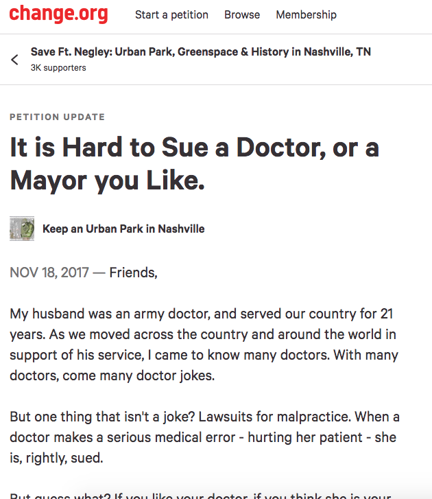 https://www.change.org/p/mayor-megan-barry-save-an-urban-park-greenspace/u/22033704?recruiter=747319540&utm_source=share_update&utm_medium=facebook&utm_campaign=facebook_link