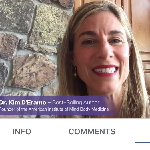 """Just watched an AMAZING short video from @drkimderamo about letting go of the """"fighting"""" mentality that comes with living with #chronicillness. 😍 @clmaiorino and I have used #emotionalfreedomtechnique, #positiveaffirmations and other #healing modalities to shift our own perspectives on living with #illness and we love that Dr. D'Eramo is spreading a message that is so close to our hearts! Definitely take time out of your day today to watch this video: https://www.facebook.com/followingJessicaOrtner/videos/826286000894776/. This mindset shift has seriously changed our lives.. and we want it to help change yours too! Happy Sunday everyone! 💜"""