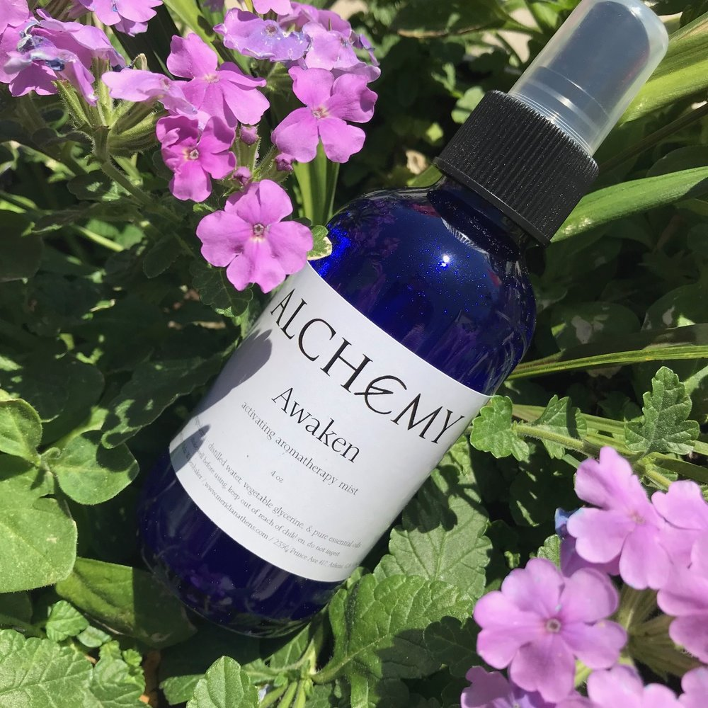 Awaken - Ignite your mind, body, and spirit with Awaken Aromatherapy Mist. This handcrafted blend of essential oils with citrus notes will help lift your mood, energize your body, and spark your creativity. Awaken to your power and potential!