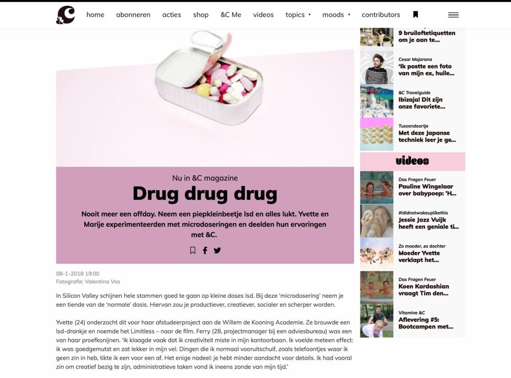 &C artikel  website