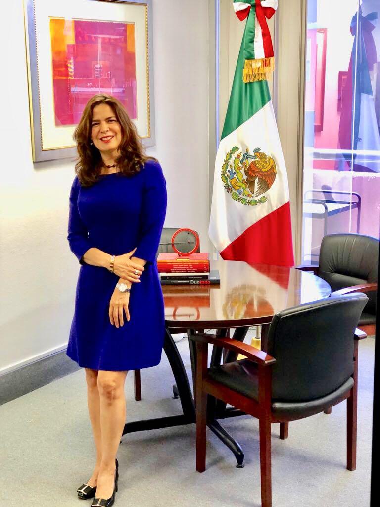 Ambassador Marcela Celorio Mancera - Ambassador of MexicoForthcoming article: The CaliBaja Border, the Gateway to a Cross-Border Reality