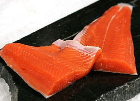 Coho Salmon/Silver - We can sell this fish Whole, in Fillets or cut into Steaks then vacuum sealed. Call for the Best Price: (360) 640-2041