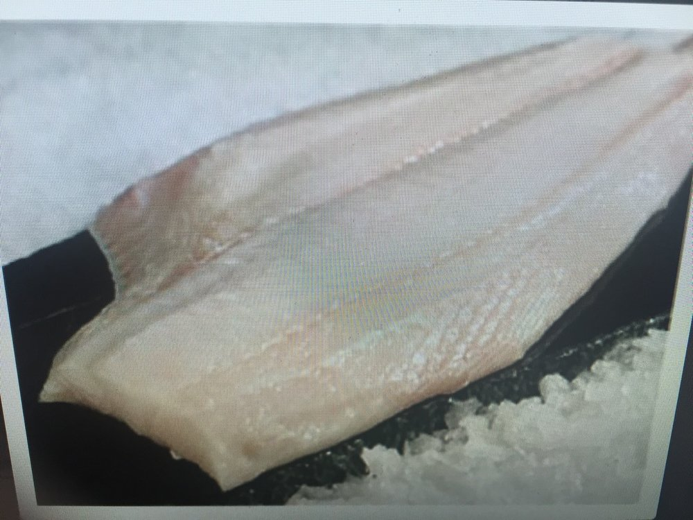 Halibut  - We can sell this fish Whole, in Fillets or cut into Steaks then Vacuum Sealed.  Call for the Best Price: (360) 640-2041