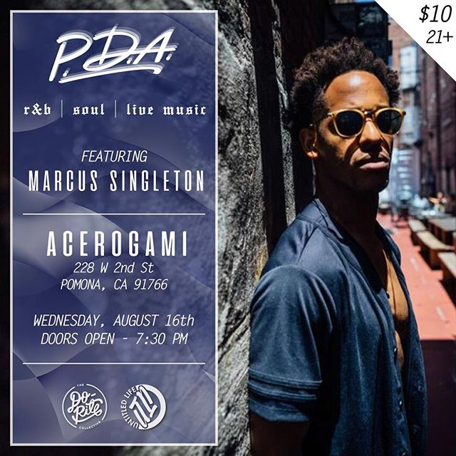 all my IE homies come kick it with your boy at the Acerogami in Pomona next Wednesday! Drinks, Music & Vibes all around! | #PDA #21plus #rnblive #hiphopsoul #drinks🍹 #untldlife #doritecollab