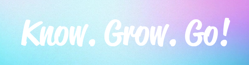 Know, Grow, Go WOWKids Slogan Image