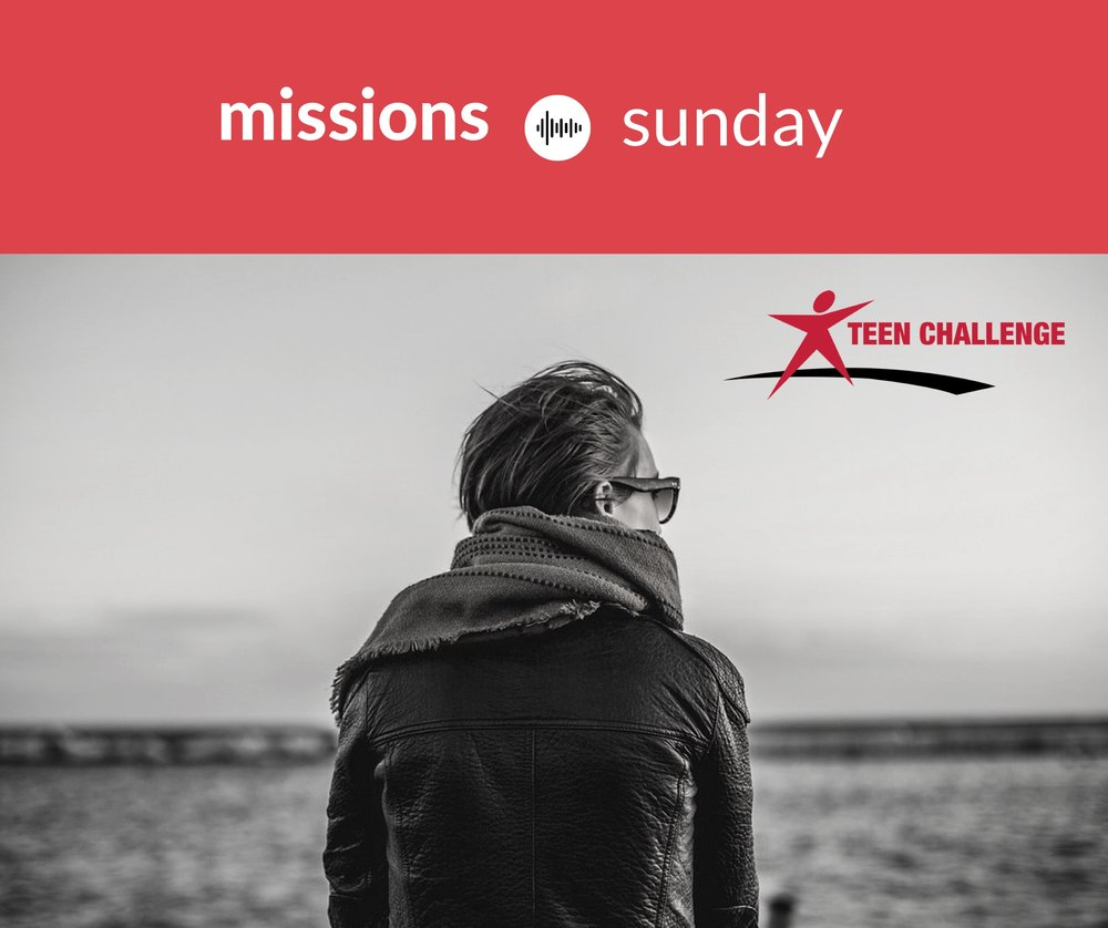 Missions Sunday and Teen Challenge Logo