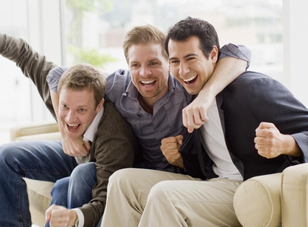 Three Guy Friends