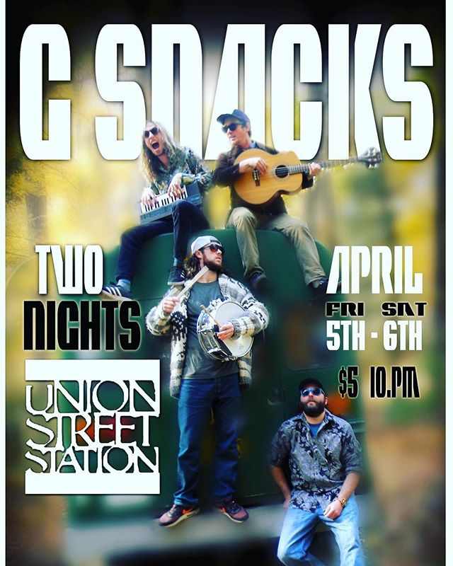 Well be playing two nights in #traversecity at @unionstreetstationtc can't wait spend the weekend with people ready to party! #electronic #slime #funk #live #music #excellent