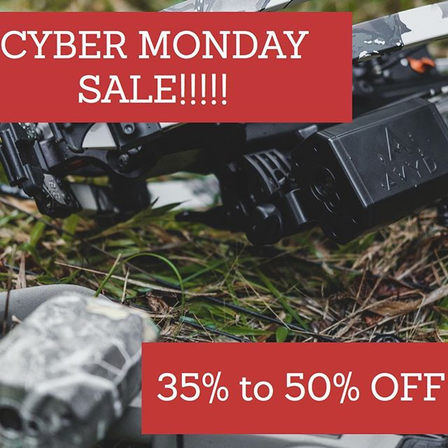 If you have been waiting to get your AVYD, wait no longer! Buy any AVYD unit get a second one 50% off automatically at check out. Use discount code BLACKEDOUT to get AVYD in black for 35% off! #getavyd #bowhuntingwhitetails #bowhuntordie #bowhunter4life #bowhunters