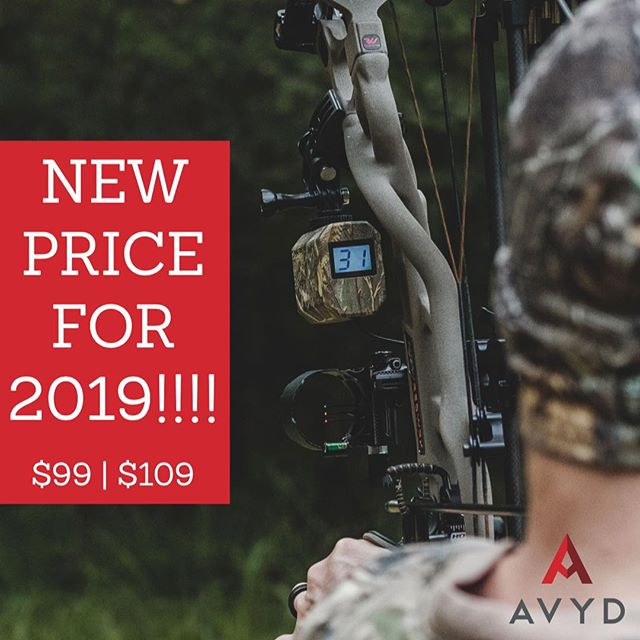 Going into 2019 we have been able to lower the price of all remaining AVYD bow mounted rangefinders! $90 off!!!! You won't find a simpler or more economical option for knowing your yardage at full draw! Get yours while supplies last. #getavyd #bowhunters #bowhunter4life #bowhuntordie