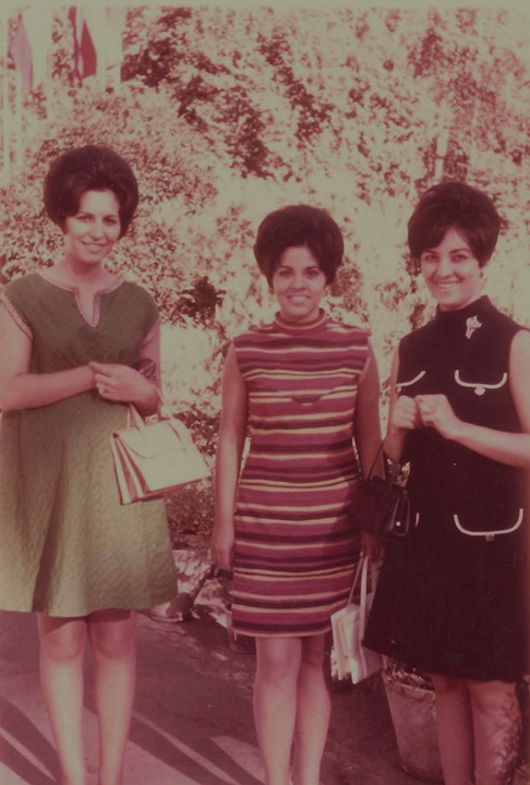 1969 in Tehran with a friend and sister -in-law- .jpg