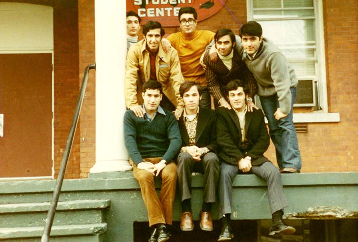 Saeed &  Massoud Afaru Saint Michael College 1971. .jpg