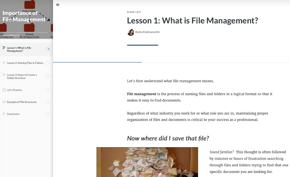 Importance of File Management - Learn More