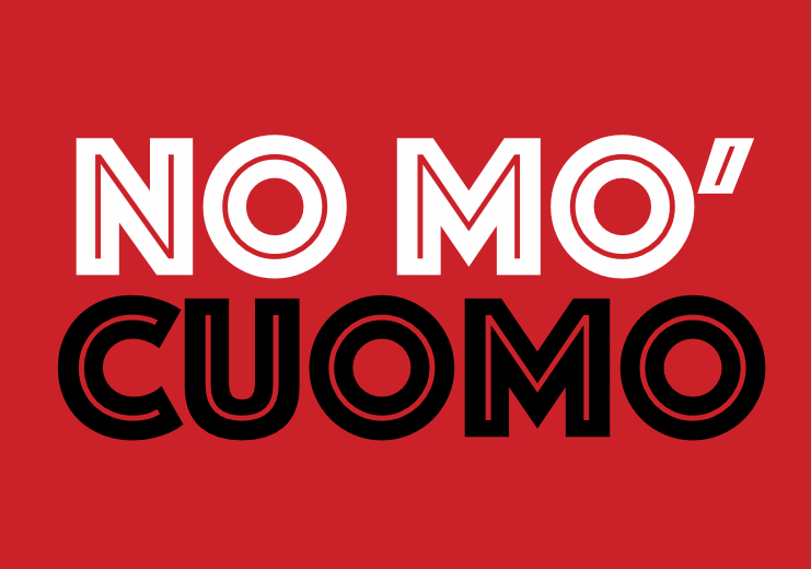 Democratic socialists fly 'No Mo Cuomo' banner over fundraiser for governor