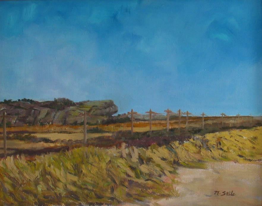 Shinglekill Falls, NY  Oil on canvas