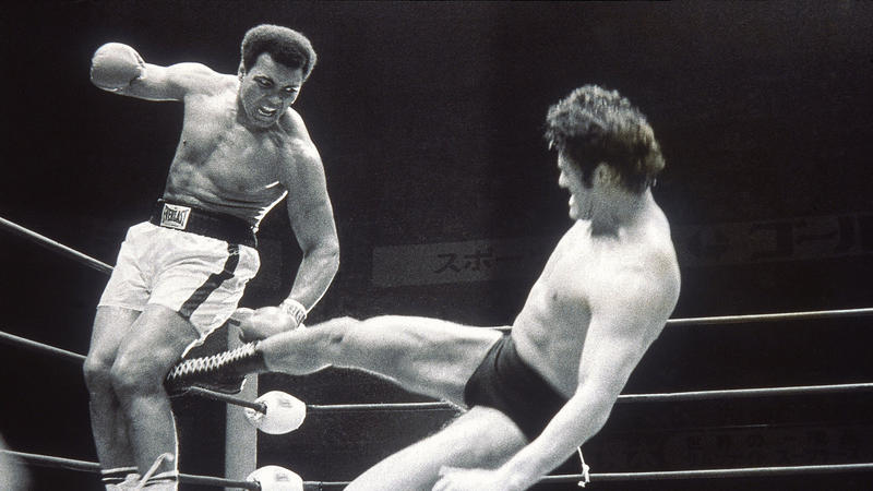 The Japanese pro wrestler who almost got Muhammad Ali's leg amputated  -