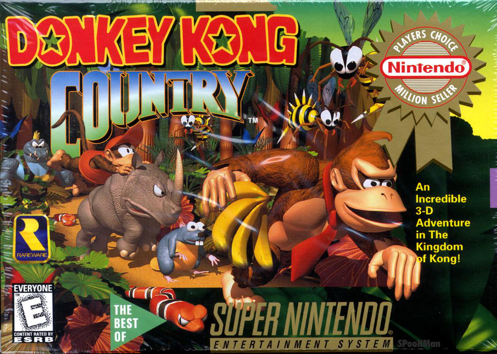 On Like Donkey Kong: Super Nintendo vs Hip-Hop - I interviewed the composer of the Donkey Kong Country soundtrack on how he feels about being sampled by Childish Gambino and Drake. Read it here.