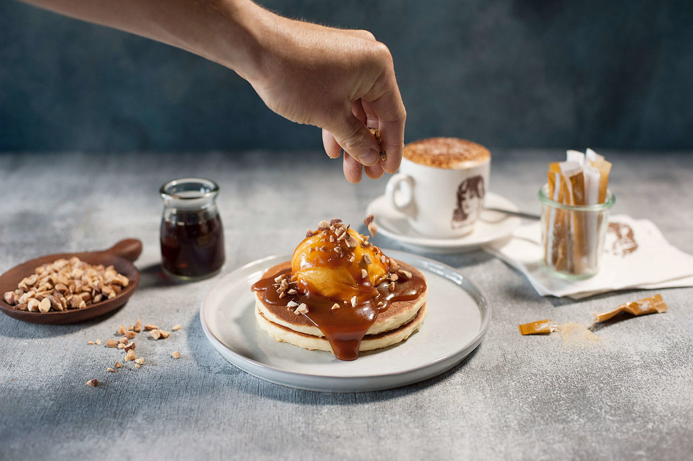 lovely-people-salted-caramel-crunch-almonds-nuts-pancake-pancakes-stack-sweet-dessert