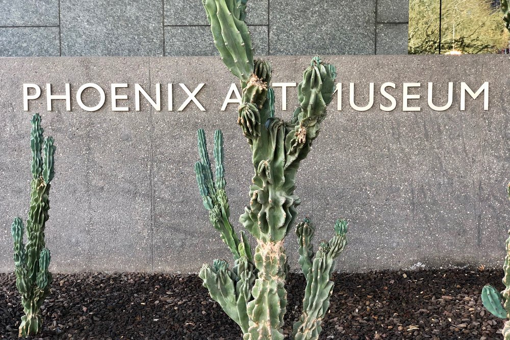 Phoenix Art Museum Free Sunday Family Day Finding Arizona Podcast Wedding Blog