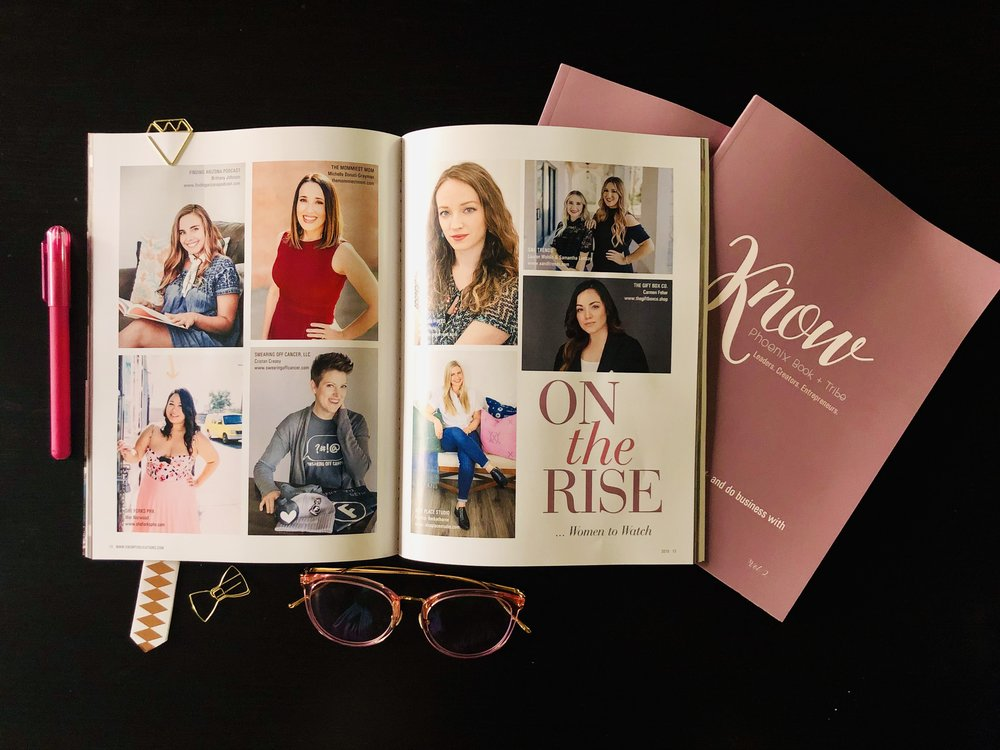 Know Tribe Phoenix Vol II Women to Watch On The Rise Finding Arizona Podcast