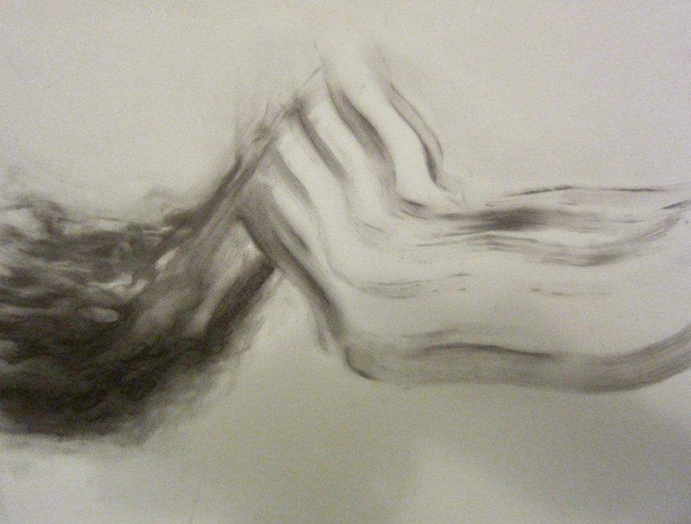 Drawing by Maya Stern