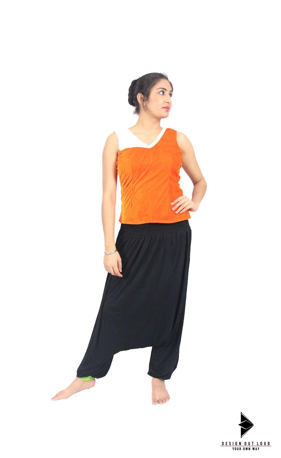 Orange Velvet Top (Front).jpg