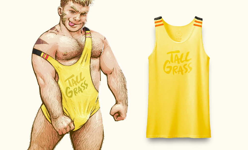Pikachu's tank top, bear not included!