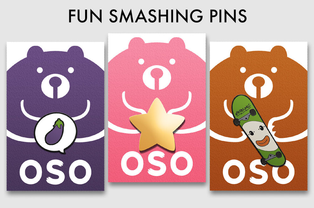 Inspired by the Ice Climbers, Kirby and Bowser Jr, we created these fun character pins. They also serve as the perfect accessories to our tees and tanks!