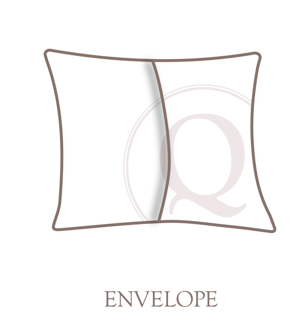 Envelope Pillow Closure