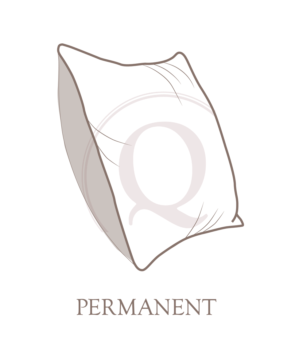 Permanent Pillow Closure