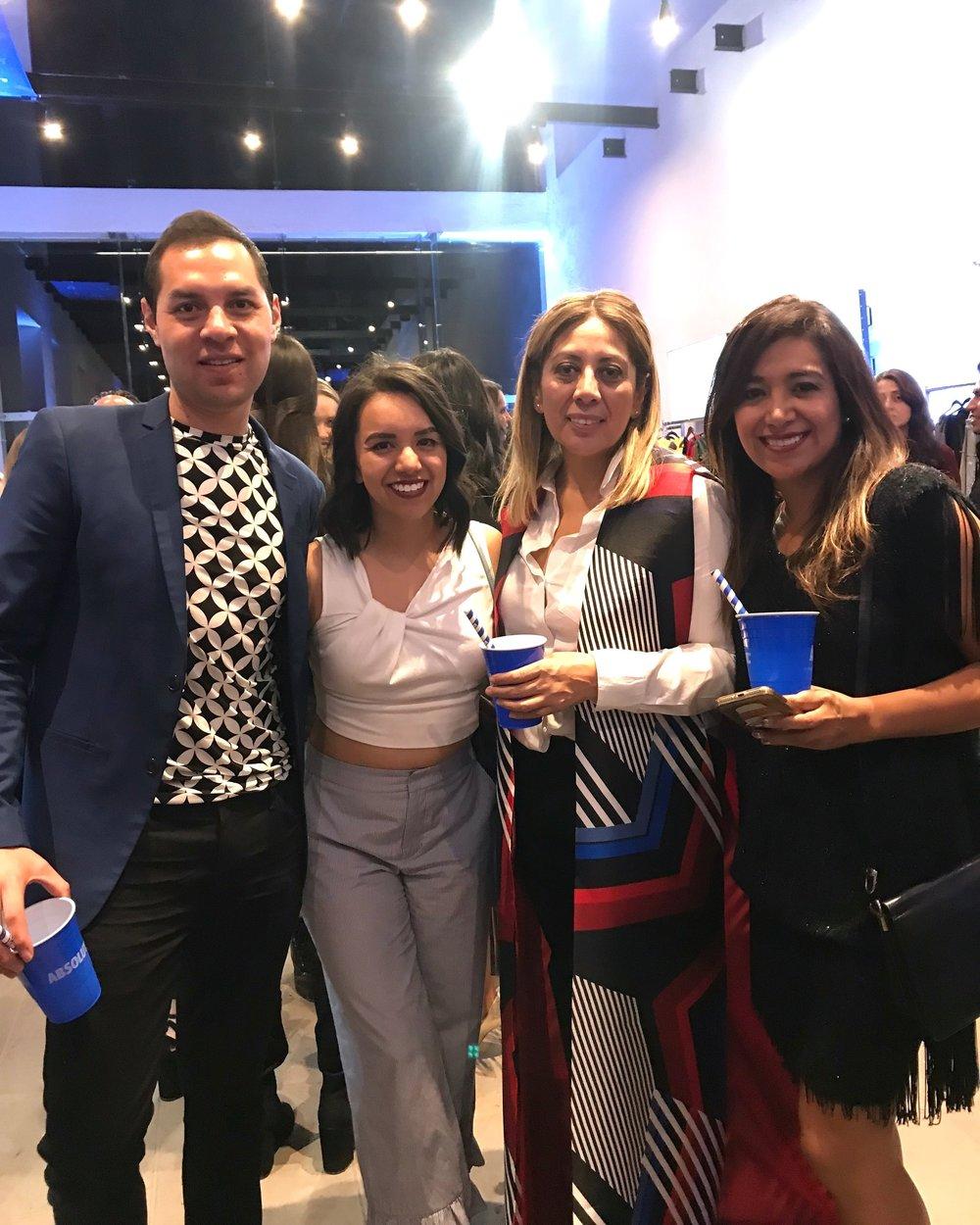 Con Rafa Subdirector de Trozmer, Fabiola Montes y Anabell Diaz de Bianco