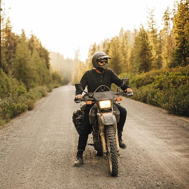 Our friends @luckybrand shared our adventure on their new blog. Hit the link in our bio to see the full story! // #underopenair #getlost #transamericatrail #dualsport #advriding #finditliveit #denim #chasinglight