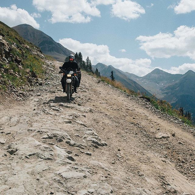 Halfway through the week. Hope everyone has a smooth ride down to the weekend. @collinweeks had a bumpy one on Cinnamon Pass last year.