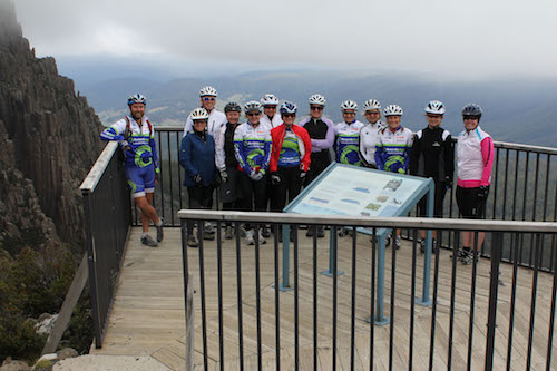 Ben Lomond MTB lookout