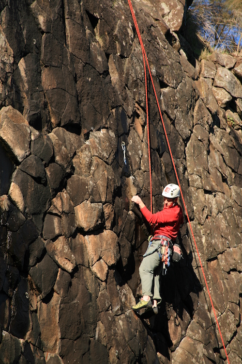 Rock Climbing Tasmania - Hillwood Chessboard