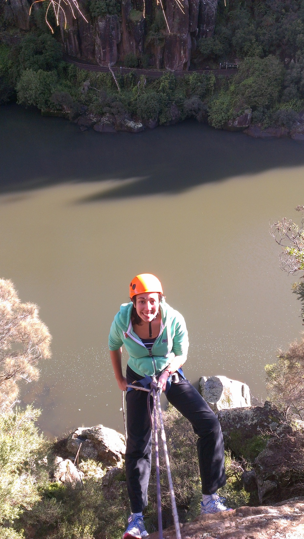 Cataract Gorge Rock Climbing