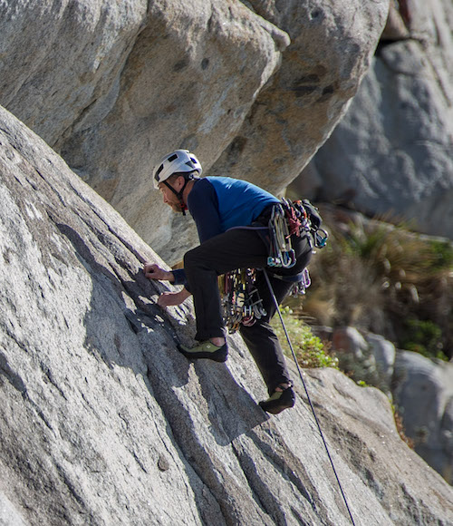 Ian Ferrier - mountain climbing