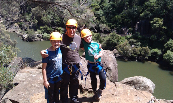 Rock Climbing Tasmania - Cataract Gorge