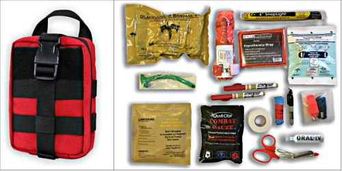 This is our Racer First Aid Kit Lite (R-FAK Lite)--See details in Perks section