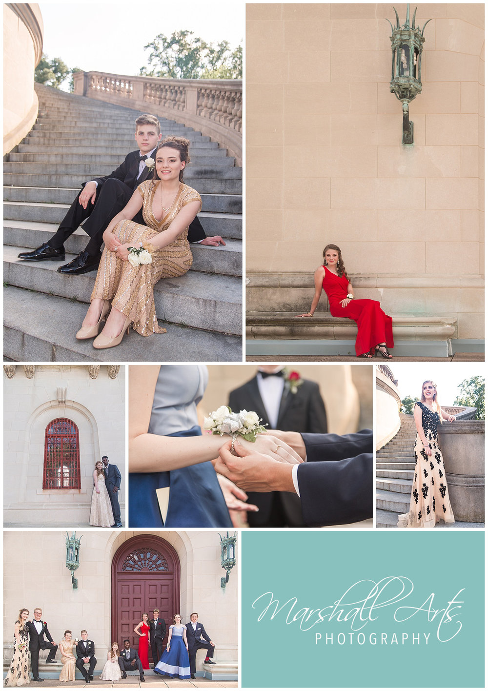 Dramatic Prom Pictures - Marshall Arts Photography