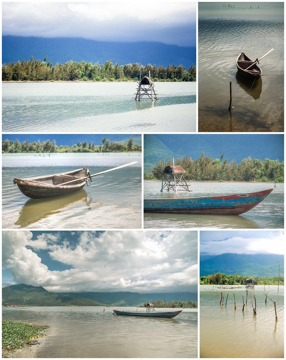 Vietnamese Boats - Marshall Arts Photography
